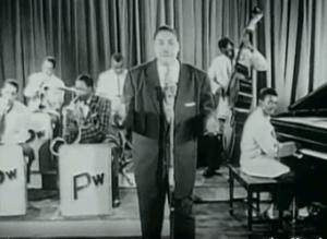 Big Joe Turner, Rock 'n' Roll Revue, Apollo Theater, 1955
