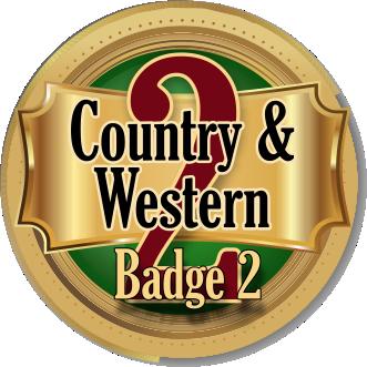 C & W Badge 2